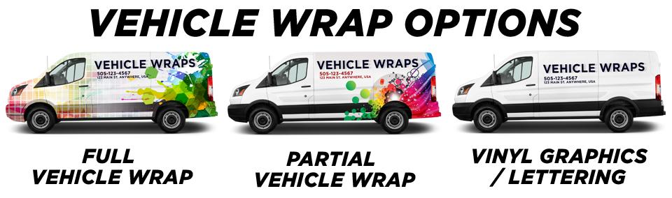 Santa Ana Vehicle Wraps vehicle wrap options